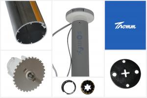 Rolgordijn kit - ingebouwde batterij - RTS (draadloos te bedienen)