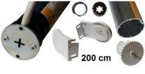 Sonesse kit 100 cm voor elektrische rolgordijnen