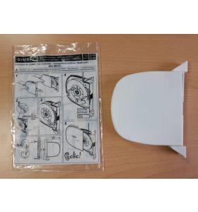 Bandoproller wit voor 5 meter lint (KOOPJE)