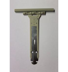 PVC veer - 17 cm lang - voor 9 mm lamellen (pakket van 10 stuks)